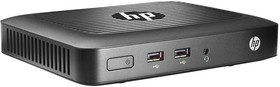 Тонкий клиент HP t420, AMD GX-209JA, DDR3L 2Гб, Windows Embedded Standard 7E, черный [m5r76aa]