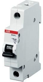 Автомат ABB SH201L C10 1-полюсной
