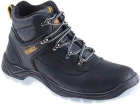 DWF 50031-122-11, Laser Black Steel Toe Men Safety Boots, UK 11, US 12