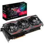 Фото 2/6 Видеокарта Asus PCI-E 4.0 ROG-STRIX-RX5700XT- O8G-GAMING AMD Radeon RX 5700XT 8192Mb 256bit GDDR6 1840/14000/ HDMIx1/DPx3/HDCP Ret