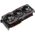 Фото 6/6 Видеокарта Asus PCI-E 4.0 ROG-STRIX-RX5700XT- O8G-GAMING AMD Radeon RX 5700XT 8192Mb 256bit GDDR6 1840/14000/ HDMIx1/DPx3/HDCP Ret