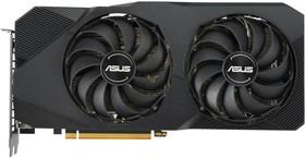 Фото 1/9 Видеокарта Asus PCI-E 4.0 DUAL-RX5700-O8G-EVO AMD Radeon RX 5700 8192Mb 256bit GDDR6 1515/14000/ HDMIx1/DPx3/HDCP Ret