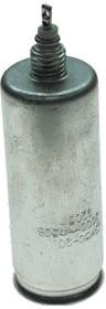 Фото 1/2 К50-20 2000 мкф 50 В, Конденсатор электролитический алюминиевый миниатюрный