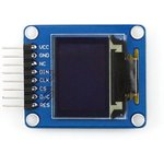 Фото 4/5 0.95inch RGB OLED (A), RGB OLED дисплей с разрешением 96х64px, интерфейс SPI, изогнутый контакный разъем