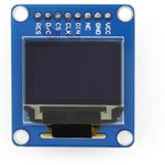 Фото 2/5 0.95inch RGB OLED (B), RGB OLED дисплей с разрешением 96х64px, интерфейс SPI, прямой контакный разъем