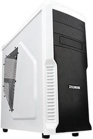 Корпус ATX ZALMAN Z3 PLUS, Midi-Tower, без БП, белый