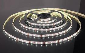 60Led-4.8W-IP20-12V белый, Лента светодиодная, 60SMD(3528)/m, 4.8Вт/м,12В, цена за катушку 5м