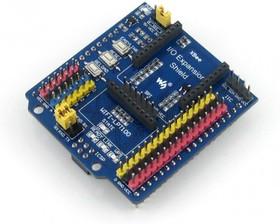 Фото 1/4 IO Expansion Shield, Плата расширения для подключения периферийных Arduino модулей