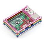 Фото 5/6 Rainbow Case B for RPi, Корпус для одноплатного компьютера Raspberry Pi Model B+ / Pi 2 / Pi 3