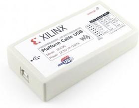 Фото 1/2 Platform Cable USB, Загрузочный кабель для внутрисхемного конфигурирования и программирования всех устройств Xilinx