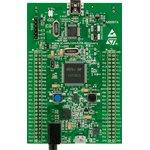 STM32F407G-DISC1, Отладочная плата на базе MCU STM32F407VGT6 (ARM Cortex-M4), ST-LINK/V2-A, accelerometer, DAC