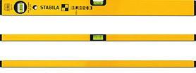 Уровень STABILA 02289 тип 70 1200мм 0.5мм/м 2 глазка