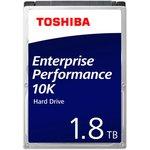 Жесткий диск Toshiba SAS 3.0 1800Gb AL15SEB18EQ (10500rpm) ...