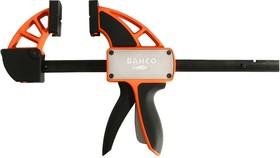 Струбцина BAHCO QCB-900 быстрозажимная max. мощность 200кг одним нажатием зев при зажиме 900мм