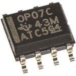 Фото 2/4 OP07CD, Прецизионный одноканальный операционный усилитель, [SO-8]