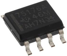 SN75176AD, Драйвер линии RS422, 4.75В-5.25В [SOIC-8]