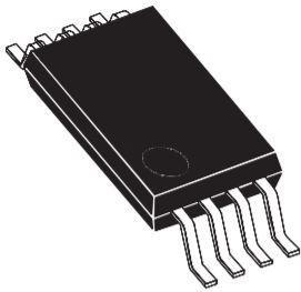 M34E02-FDW6TP, EEPROM Serial-I2C 2K-bit 256 x 8 1.8V/2.5V/3.3V/5V 8-Pin TSSOP T/R