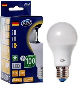 Лампа светодиодная REV RITTER 32346 4 13Вт E27 1100лм 2700К теплый свет