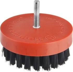 Кордщетка Hammer Flex 207-217 80мм d6 чашеобразная для полировки нейлоновая, с хвостовиком