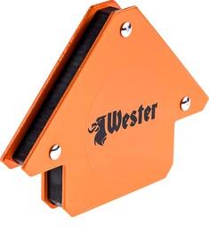Уголок магнитный для сварки WESTER WMC25 829-002, углы 45°, 90°, 135°, 11,5кг