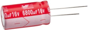 Фото 1/2 860240672002, Электролитический конденсатор, 10 мкФ, 50 В, Серия WCAP-AT1H, ± 20%, Радиальные Выводы, 5 мм