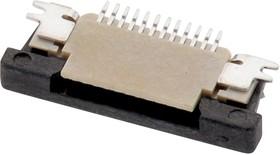 68714514522, FFC / FPC разъем, ZIF, горизонтальный, 0.5 мм, 45 контакт(-ов), Гнездо, Поверхностный Монтаж, Низ