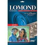 Бумага Lomond 1108200 A4/290г/м2/20л./белый сатин для ...