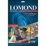 Бумага Lomond 1101305 A4/170г/м2/20л./белый полуглянцевое ...