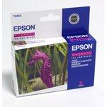 Картридж EPSON C13T048340 пурпурный [c13t04834010]