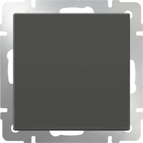 WL07-SW-1G-2W/Выключатель одноклавишный проходной (серо-коричневый)