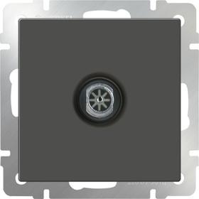 WL07-TV/ ТВ-розетка оконечная (серо-коричневый)