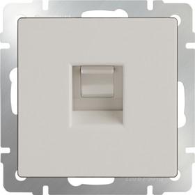WL03-RJ-45-ivory /Розетка Ethernet RJ-45 (слоновая кость)