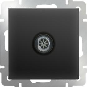 WL08-TV/ ТВ-розетка оконечная (черный матовый)