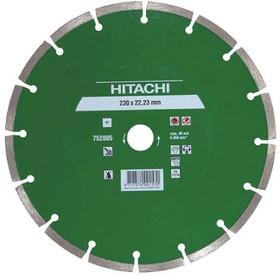 Диск алм. HITACHI 750904 Ф180х22мм сегментный универсальный