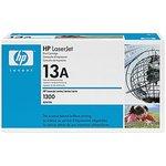 Картридж лазерный HP 13A Q2613A черный (2500стр.) для HP LJ ...