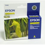Картридж EPSON C13T048440 желтый [c13t04844010]