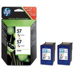 Двойная упаковка картриджей HP №57 многоцветный [c9503ae]