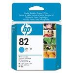 Картридж HP 82 голубой [ch566a]