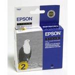 Двойная упаковка картриджей EPSON C13T007402 черный ...