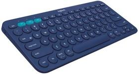 Клавиатура LOGITECH K380, bluetooth, беспроводная, темно-серый [920-007584]
