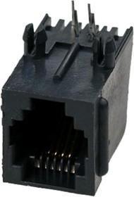 TJ3B-6P4C (05-1113), Розетка RJ14 телефонная на плату тип 3B