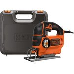 Лобзик BLACK & DECKER KS801SEK-QS 550Вт глуб.80мм рег.скор ...