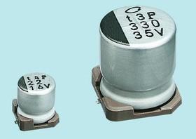 UUR1V470MCL6GS, Cap Aluminum Lytic 47uF 35V 20% (6.3 X 5.8mm) SMD 94mA 2000h 85C T/R