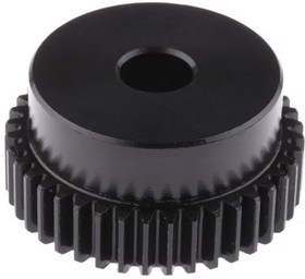 SS10/40B, GEAR, SPUR, STEEL, 1.0 MODULE, 40 TEETH