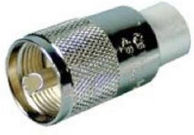 27-330, RG-59 / 58 Twist-On PL-259 Connector