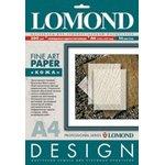 Бумага Lomond 0918041 A4/200г/м2/10л./белый глянцевое кожа ...