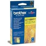 Картридж BROTHER LC1100HYY желтый