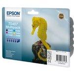 Набор картриджей EPSON T0487 6 цветов [c13t04874010]