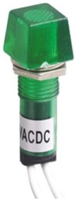N-XD10-4W-Y, Лампа неоновая с держателем желтая 220VAC