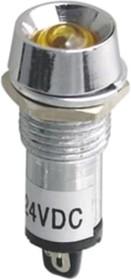 N-XD12-1-R, Лампа неоновая с держателем красная 220VAC